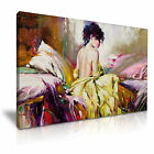 Beautiful Nude Girl Canvas Modern Wall Art 9 Sizes to Choose