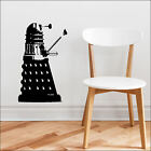 Dr Who Dalek Wall Art Sticker 55x34cm 22x14inch Cut Vinyl Decal Choice 9 Colours