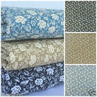 Ambrose Mini flower 100% cotton fabric  sold per fat quarter half metre or metre
