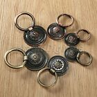 Retro Zinc Alloy Cabinet Knob Drawer Dresser Door Cupboard Drop Ring Pull Handle