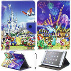 """For iPad 2 3 4/Air/Mini/iPad Pro 9.7""""Lovely Mickey Minnie PU Leather Case Cover"""