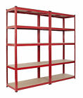 Warehouse Racking Garage Shelving Unit Steel TUV Rated  <br/> TUV Tested ✔ Available in multiple colours  ✔ 350kgs