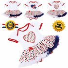 Baby clothes Kids Girls Summer Dress Girl Pageant Wedding Dress Lace Flower S62