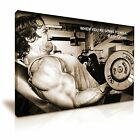 Arnold Schwarzenegger Lifting Weight Modern Wall Art Canvas 9 Sizes to Choose