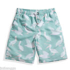 Summer Men Fashion Print Beach Shorts Fast Dry Large Camouflage Swimming Pants