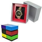 WATCH BRACELET GIFT STORAGE DISPLAY BOX SET PRESENT JEWELLERY MENS WOMENS LID