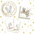 *Disney Baby Vintage Party Shower Birthday Set Partyware Tableware Kit Complete*