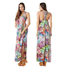 Stella Morgan Designer Multi Strap Boho Womens Maxi Ladies Cotton Summer Dress