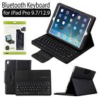 Detachable Bluetooth Keyboard Leather Case Cover for NEW Apple iPad Pro 9.7/12.9