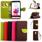 Luxury Chic Leather Card Flip Wallet Card Case Stand Cover Pouch For LG G2/G3/G4