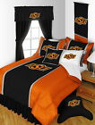 Oklahoma State Cowboys Comforter & Pillowcase Twin Full Queen King Size