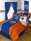 New York Mets Comforter and Sheet Set Twin Full Queen King Size