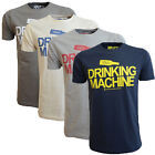 Xplicit Drinking Machine Mens T Shirt Funny Novelty Slogan Graphic Print Top Tee