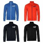 Puma Gents Mens Track Jacket Top Zip Mock Neck Long Sleeve