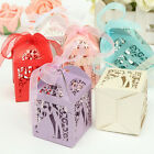10/50/100pcs Sweet Married Wedding Favor Box Gift Boxes Candy Paper Party Boxes