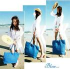 Fashion Women Girl Summer Beach Shoulder Bag Tote Handbags Ladies Straw Bag - LD