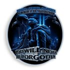 3M Reflective Window Decal Memory Of Our Fallen Brothers Soldier POW MIA Sticker