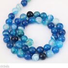 1Bunch Blue Natural Round Spacer Loose Bead 4/6/8/10/12mm Jewelry Making Finding