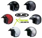 HJC CS-5N Solids Open Face Cruiser Motorcycle Helmet XXS XS S M L XL XXL