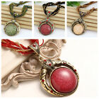 Women Multilayer Beads Chain Crystal Bohemia Pendant Necklace Jewelry