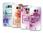 TULLUN DESIGNS PERSONALISED COLORFUL ORCHIDS GEL CASE FOR SAMSUNG GALAXY S7