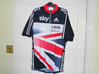 NEW SKY BLUE TOP team GB SS cyling bike jersey rider issue top shirt BNIB M L S
