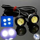 12V Car Motorcycle 10W LED Eagle Eye Daytime Running DRL Tail Light Backup Lamp