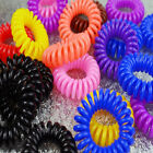 Useful Girl Elastic Rubber Hair Ties Band Rope Ponytail Holder Scrunchie 12pcs