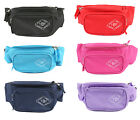 Two Bare Feet Boarding Co Triple Compartment Waistbag Travel Bum Bag Hip Pouch