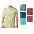 New 2016 Adidas Golf Tournament 3-Color Stripe Polo Shirt - Pick Size  Color