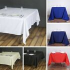 """24 pcs 70"""" SQUARE POLYESTER TABLECLOTH Wholesale Wedding Party Catering Linens"""