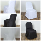 50 pcs Polyester Banquet CHAIR COVERS Wedding Reception Party Supplies Wholesale