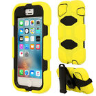 iPhone SE 5s 5 Tough Survival Hard Rugged HEAVY DUTY Shock Protective Case <br/> *BUILT-IN SCREEN PROTECTOR* *DETACHABLE CLIP/STAND*