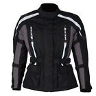 SPADA CORE BLACK GREY LADIES WOMENS WATERPROOF MOTORCYCLE MOTORBIKE JACKET
