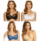 Fantasie Allegra Underwired Side Support Bra 9092 *Blue Black White Butterscotch