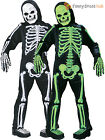 Childrens Totally Skelebones Costume Boys Skeleton Halloween Fancy Dress Outfit