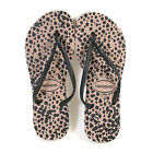 Havaianas Women's Slim Animals Rubber Flip Flop Rose Gold