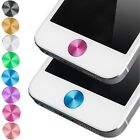 Metal Round Home Button Sticker for Apple iPhone 4 4S 5C 2pcs Decals Stickers
