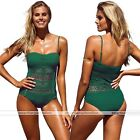 Fashion Sexy Women Halter Lace Halter Lace Bathing Suit Beach Bikini Swimwear