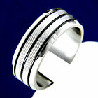 New Stainless Steel Men's Engagement Wedding Anniversary Band Ring