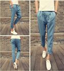 New Fashion individuality Casual men's Clothing casual pants loose SWEATPANTS