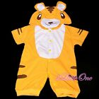 One-Piece Jumpsuit Tiger Fancy Party Costume Outfit Baby Infant Size 3-18m FC027