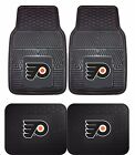 Philadelphia Flyers Heavy Duty Floor Mats 2 & 4 pc Sets for Cars Trucks & SUV's $37.95 USD on eBay