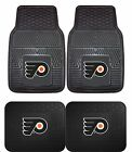 Philadelphia Flyers Heavy Duty Floor Mats 2 & 4 pc Sets for Cars Trucks & SUV's $26.85 USD on eBay
