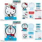 JAPAN HELLO KITTY & DORAEMON ENVELOPE & STICKER SET