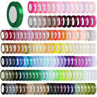 "25 Yards ruban satin 3/8"" 10mm Craft Party Wedding DIY Décorations RN0003"