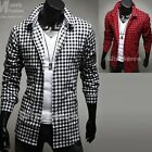 Mens New Fashion Luxury Long Sleeve Business Casual Dress Shirts Formal Top W745