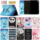 For Ipad 2 3 4/ Air/ Air 2 / Mini Cute Magnetic Flip Pu Leather Stand Cover Case