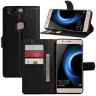 Huawei Honor V8 Case Leather Wallet Cases Flip Cover Stand Card Holder