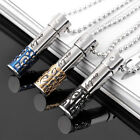 Women Fashion Hollow-out Perfume Bottle Pendant Chain Necklace Jewelry